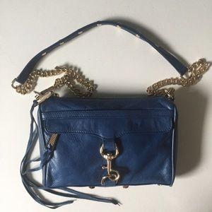 Rebecca Minkoff Handbags - Cobalt Blue Rebecca Minkoff Mini Mac