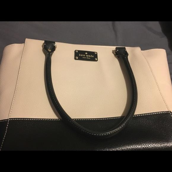 81% off kate spade Handbags - Kate Spade Taden Bag Purse Cream ...