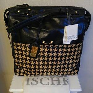 Nwt Badgley Mischka leather work/travel/overnight