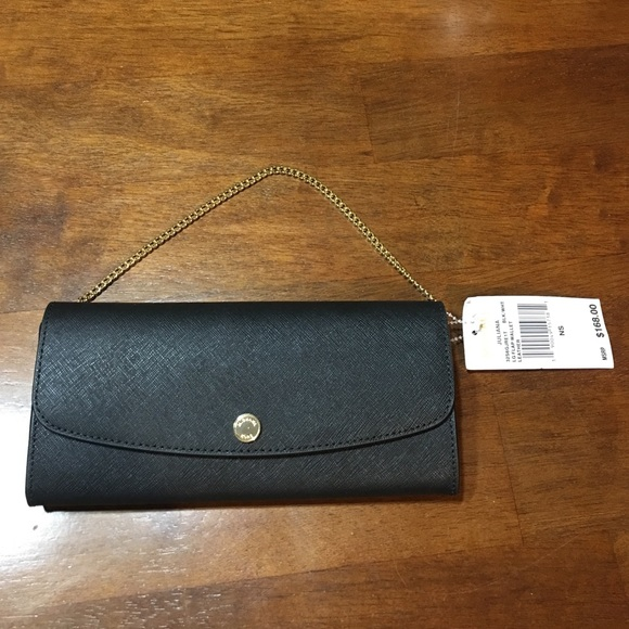 67f2c7fd10f2 MK Juliana Saffiano Leather Large Flap Wallet. NWT. MICHAEL Michael Kors