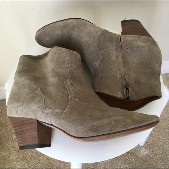 d5b805d4a0 Isabel Marant Shoes - Isabel Marant Dicker Boots (Olive Suede) 💕