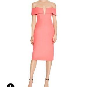 Bardot Dresses & Skirts - Bardot off the shoulder midi dress size med