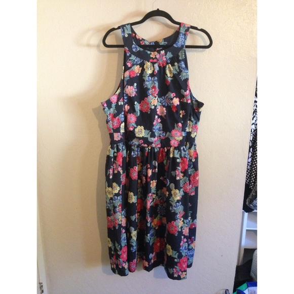 ModCloth Dresses | Fervour Mod Cloth Plus Size Dress | Poshmark
