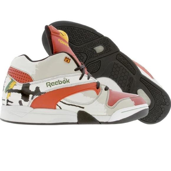 RARE Reebok Court Victory Basquiat NW NIB size 13 4aa66a5073