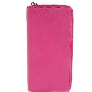 Mulberry Handbags - Mulberry Glossy Goat Zip Travel Wallet