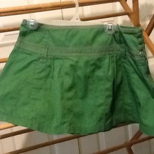 Makers of True Originals Dresses & Skirts - Cute Green Mini Skirt Size 32