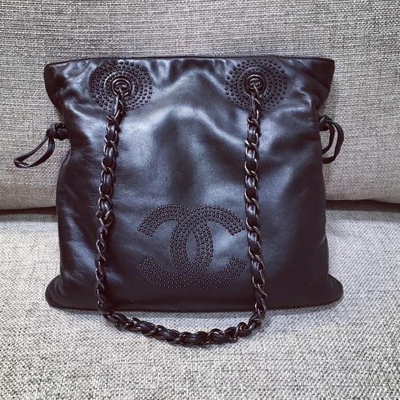 bb9ccfeb1b5f Chanel Handbags - RESERVED for Karen CHANEL Black Lim. Ed Hobo Tote
