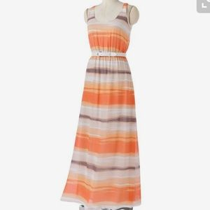 LC Lauren Conrad Dresses & Skirts - LC Lauren Conrad Striped Maxi Dress