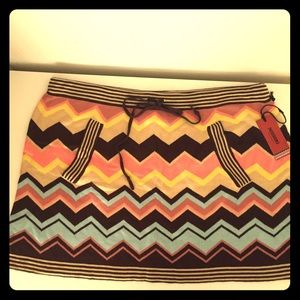 Missoni Colore Sweater Skirt
