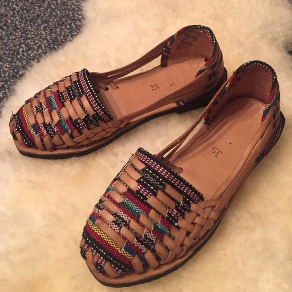 f563d154839a Free People Shoes - Handmade Huaraches Mexican Sandals