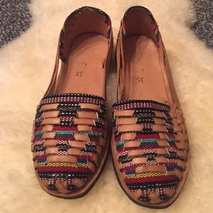 Free People Shoes Handmade Huaraches Mexican Sandals