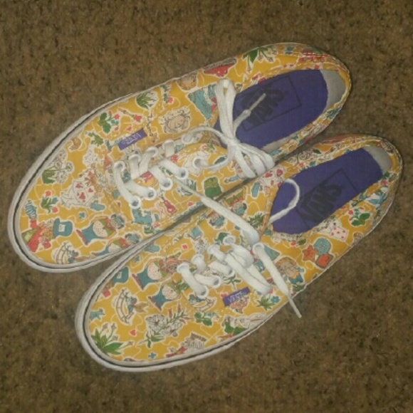 26d8474e49 Vans Authentic Liberty WonderLand Vans size 8.5! M 57b141b32599fee1f901e81d