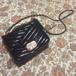 Handbags - 🌑✨Black Patent PVC Purse✨🌑