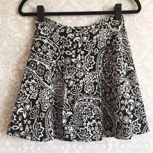 High Waisted Skater Skirt