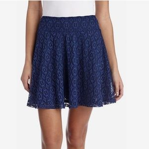 Lily White Dresses & Skirts - LILY WHITE LACE SKATER SKIRT ~ NWT