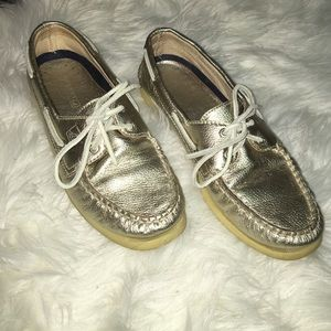 Gold Sperries.