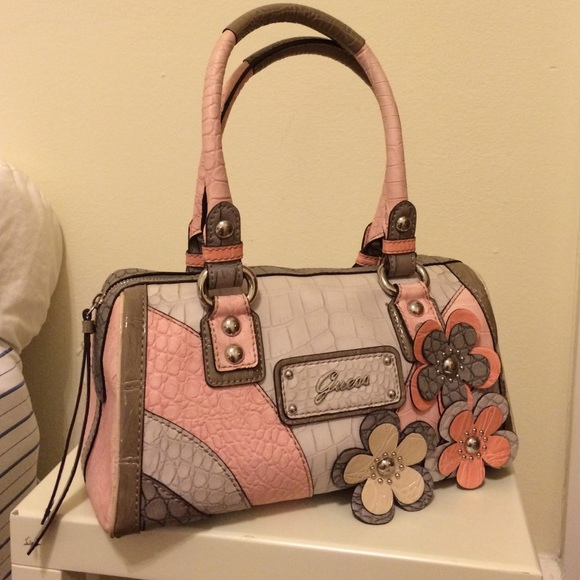GUESS Handbags - Guess Purse With Flower Accents