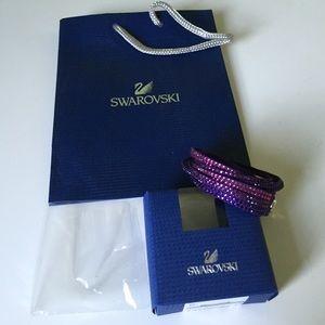 Swarovski slake bracelet
