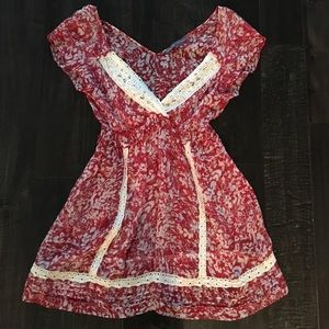 HALE BOB silk print shirt