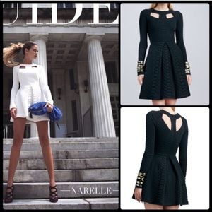 Alexis Dresses & Skirts - Narelle Structured Python-Texture Dress by Alexis