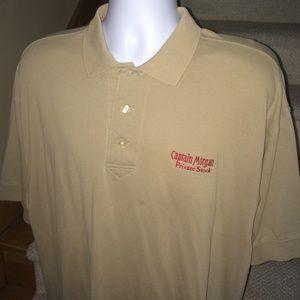 Cutter & Buck Other - Rare CAPTAIN MORGAN casual golf polo shirt men's