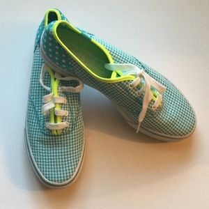 Keds Shoes - 🌿Keds Gingham Tennis Shoes