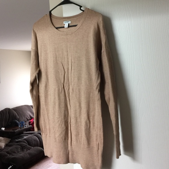 78% off Old Navy Tops - Tan tunic sweater from Meagan's closet on ...