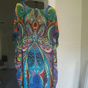 bondi lifestyle  Dresses - Silk Beach Kaftan