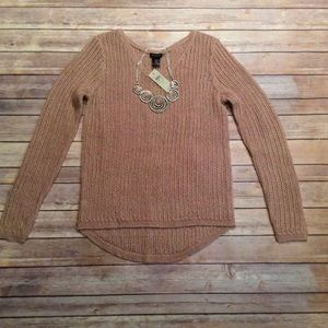 Ann Taylor Sweaters - 🌹 HP NWT Ann Taylor Open Weave Sweater Small