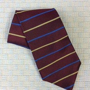 Other - Men's garnet tie in silk