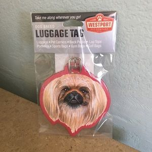 Accessories - 5⭐️ RATED- Pekinese Dog Luggage Tag