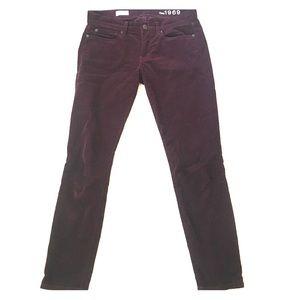 Gap cropped legging jean