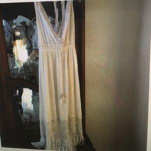 Calypso St. Barth Dresses & Skirts - Calypso St. Barth fringed midi dress