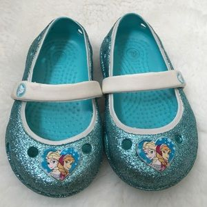 CROCS Other - Frozen Themed CROCS size 4
