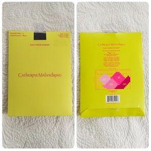 Catherine Malandrino Accessories - Catherine Malandrino black hosiery