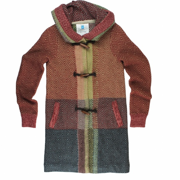 66% off Anthropologie Sweaters - SPARROW Herringbone Patchwork ...