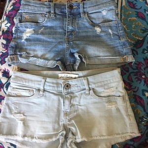 Abercrombie & Fitch Other - 2 abercrombie shorts high rise and low rise