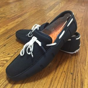 Swims Other - Navy and White Water Loafer
