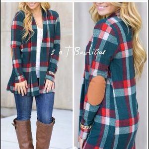 2 a T Boutique  Jackets & Blazers - 🎉 SALE 🎉 Plaid open cardigan