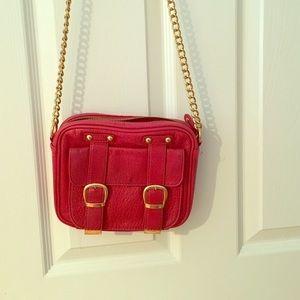 Steve Madden red satchel