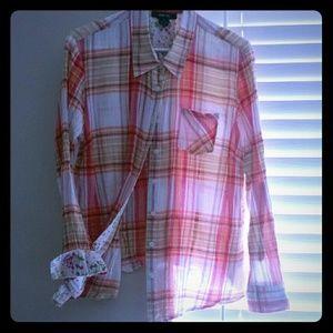 Ny&Co plaid shirt
