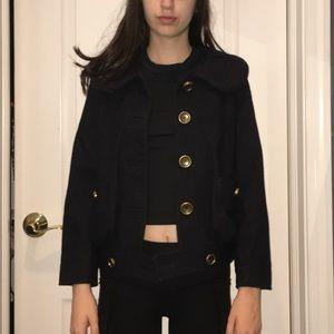 Marc Jacobs Wool Navy Jacket