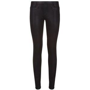 Helmut Lang Coated Black Skinny Jean