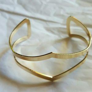 3Pommes Jewelry - Gold cuff bracelet