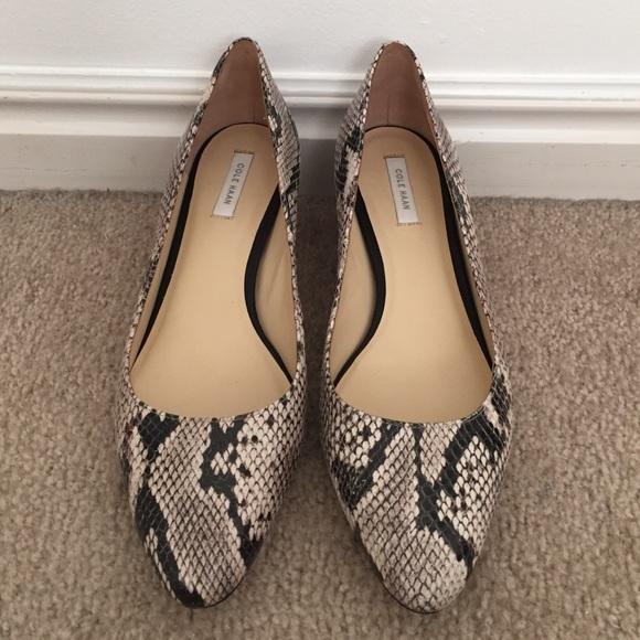 Cole Haan Shoes - Cole Haan Catalina wedge, sz 7.5