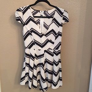 Choies Other - Black and white romper