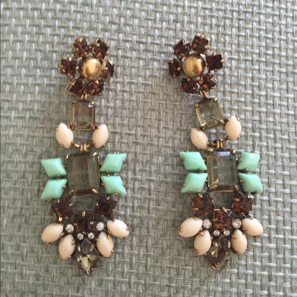 69% off Stella & Dot Jewelry - Stella & Dot Melanie Chandelier ...