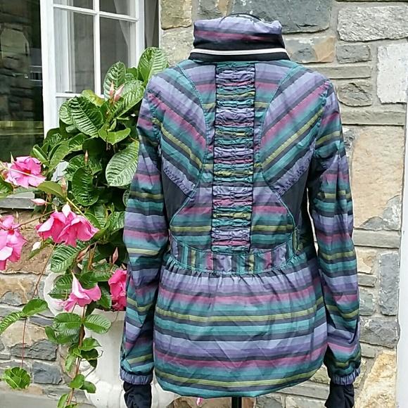 513016f45c6 lululemon athletica Jackets & Blazers - Lululemon run hustle jacket multi  color