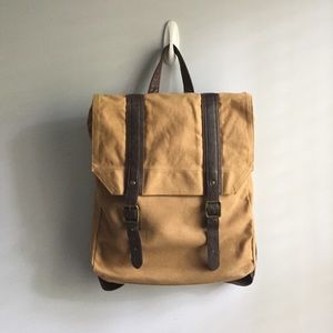 Handbags - Canvas backpack/laptop bag