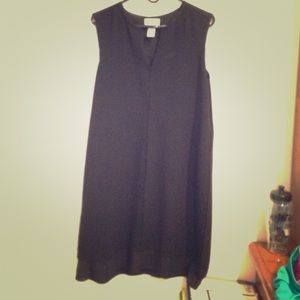 Carmen Marc Valvo Black Dress